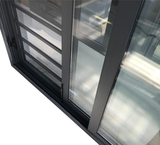 sliding jalousie window