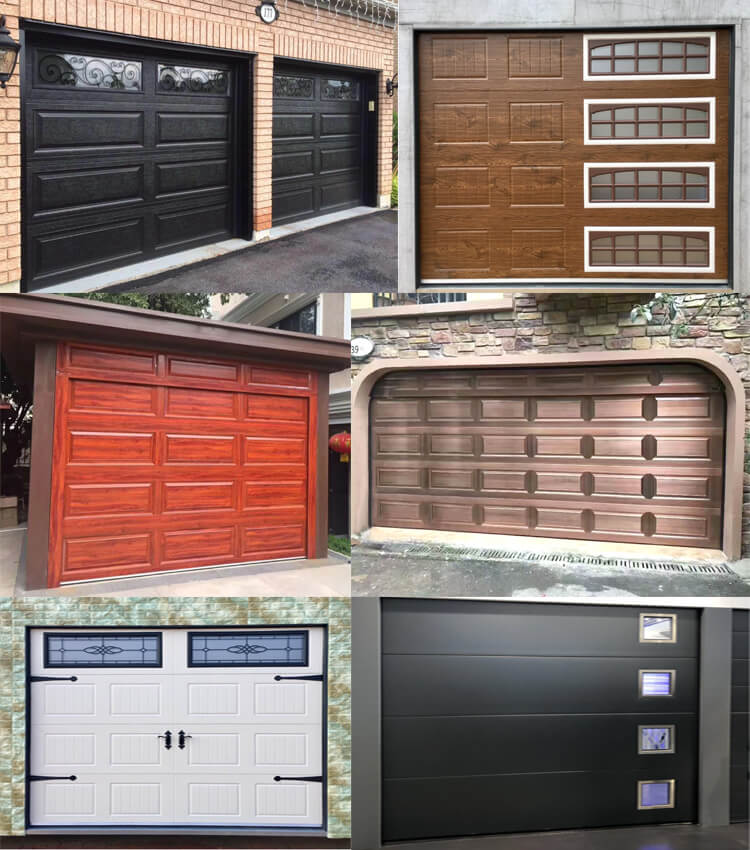 exterior insulated garage doors