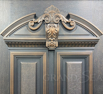 cast aluminum bulletproof door