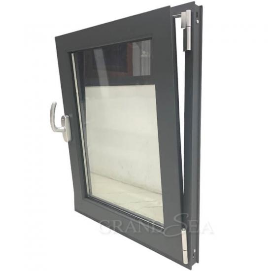 aluminum framed tilt turn window