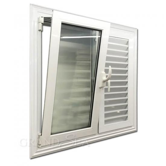 aluminum tilt turn windows