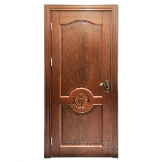 solid wood mahogany interior doors