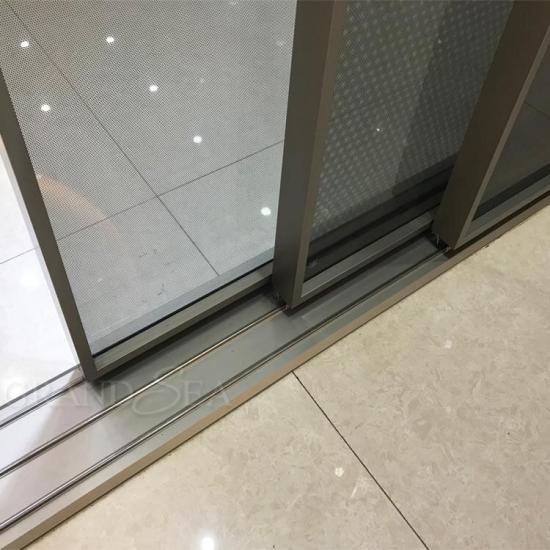 aluminum sliding glass patio door