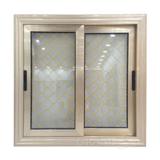 anodized aluminum sliding window
