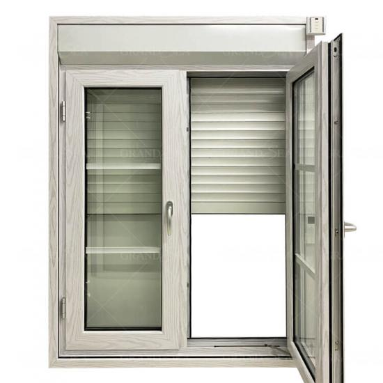 roller shutter with window
