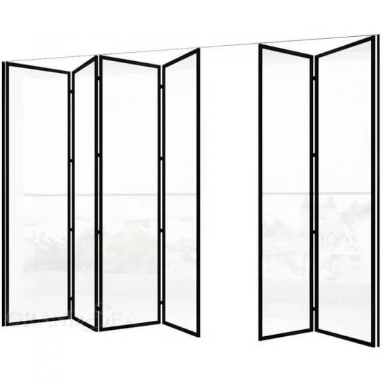 aluminum folding doors