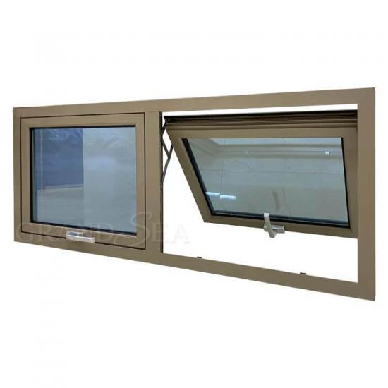 champagne gold aluminum window