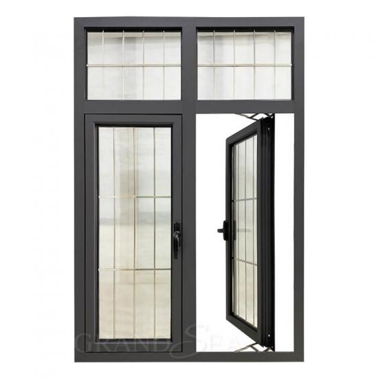 aluminum french swing window