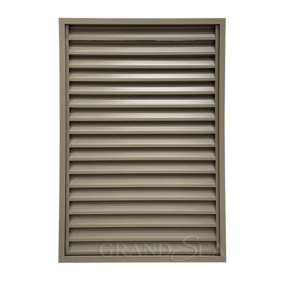 aluminum fixed louver window