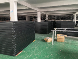 40GP aluminum windows and doors shipping to USA